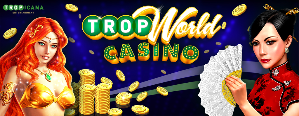 Tropicana Entertainment's Free Casino App, TropWorld Casino
