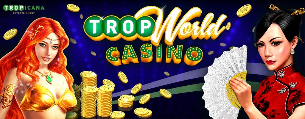 Tropicana Entertainment's Free Casino App, TropWorld Casino