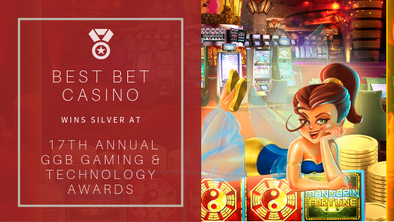 Best Bet Casino Wins Silver at 17th Annual GGB Gaming & Technology Awards