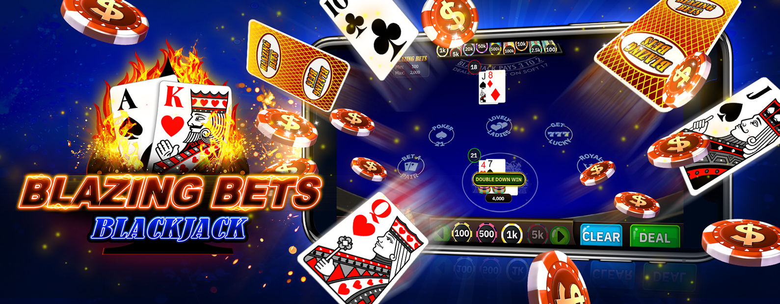 Blazing Bets Blackjack